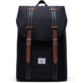 Herschel Retreat Mid-Volume Mochila 14l, black/black/tan